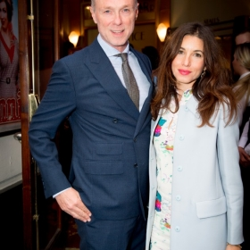 Gary Kemp & guest at Annie opening night, 5 June 2017. © Craig Sugden