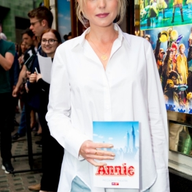 Helen George at Annie opening night, 5 June 2017. © Craig Sugden