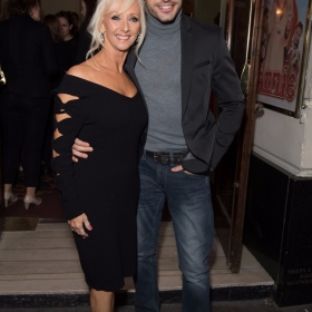 Debbie McGee and Giovanni Pernice- Annie at the Piccadilly Theatre - Photo credit Craig Sugden