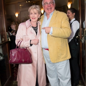 Patricia Hodge & Christopher Biggins at Annie opening night, 5 June 2017. © Craig Sugden