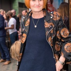 Mary Portas at Annie opening night, 5 June 2017. © Craig Sugden