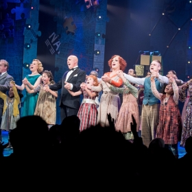 West End Company of Annie - Annie at the Piccadilly Theatre - Photo credit Craig Sugden