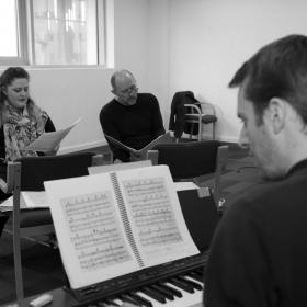 Pete 'n' Keely in rehearsal