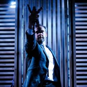 Michael Rouse in Superhero. © Alex Brenner.