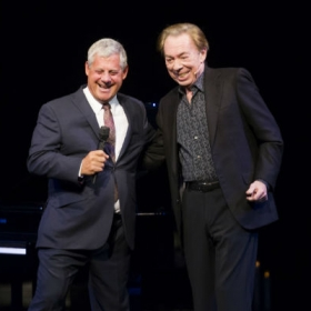#Phantom30th: Cameron Mackintosh & Andrew Lloyd Webber. © Dan Wooller