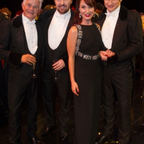 #Phantom30th: Scott Davies, John Owen Jones, Sierra Boggess & Gardar Cortes. © Dan Wooller