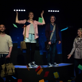 Ordinary Days at London Theatre Workshop, June 2017 © Natalie Lomako