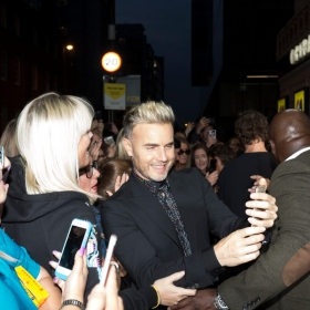 Gary Barlow on Press night. © Phil Treagus