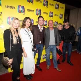 Gary Lucy & the cast of Hollyoaks