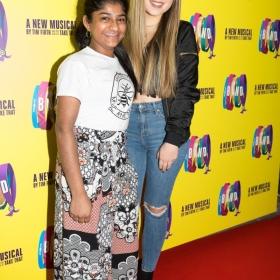 Haiesha Mistry & Ruby O'Donnell on Press night. © Phil Treagus