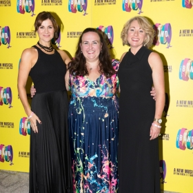 Jayne Mckenna, Alison Fitzjohn & Emily Joyce on Press night. © Phil Treagus