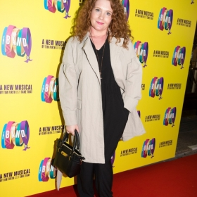 Jenny McAlpine on Press night. © Phil Treagus