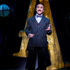 Cameron Blakely in The Addams Family. © Matt Martin
