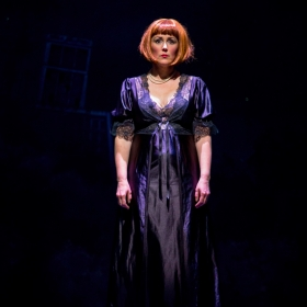 Charlotte Page in The Addams Family. © Matt Martin