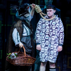 Grant McIntyre in The Addams Family. © Matt Martin