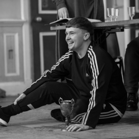 Grant McIntyre in The Addams Family rehearsals. © Craig Sugden
