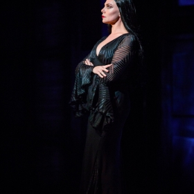 Samantha Womack in The Addams Family. © Matt Martin