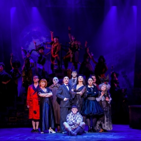 The cast of The Addams Family. © Matt Martin