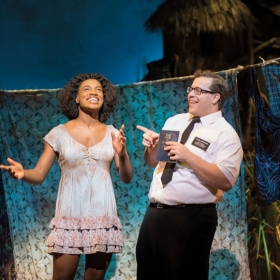 The Book Of Mormon at Prince Of Wales Theatre, March 2020. © Johan Persson
