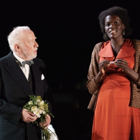 Jim Norton & Sheila Atim in Girl From the North Country. © Manuel Harlan