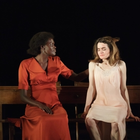 Sheila Atim & Shirley Henderson in Girl From the North Country. © Manuel Harlan