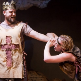 King Richard played by Neil Moors and Prince John played by James Thackeray © Scott Rylander