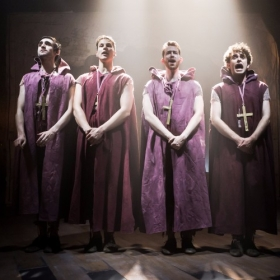 The Four Monks - David Fearn, Ryan Hall, Oliver Marshall and Calum Melville © Scott Rylander