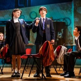 The Secret Diary Of Adrian Mole Aged 13¾ at the Ambassadors Theatre, July 2019. © Pamela Raith