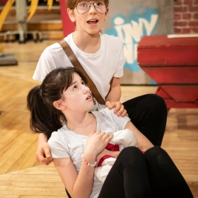 The Secret Diary Of Adrian Mole Aged 13¾ In Rehearsal at the Ambassadors Theatre, June 2019. © Pamela Raith