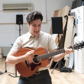 Charlie Fink in Rehearsal for Cover My Tracks