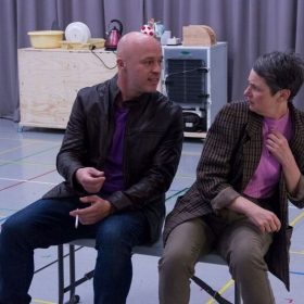 Everybody's Talking about Jamie. Rehearsal photos.