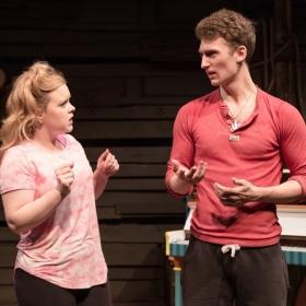 Francesca Pimm & James Guilford in rehearsal for Salad Days. © Scott Rylander