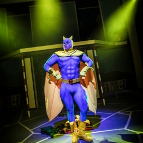 Bananaman The Musical at Southwark Playhouse. © Pamela Raith
