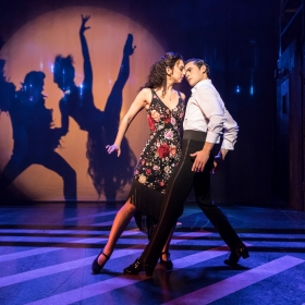 Strictly Ballroom in the West End, April 2018. © Johan Persson