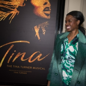 June Sarpong at Tina Press Night - © Craig Sugden