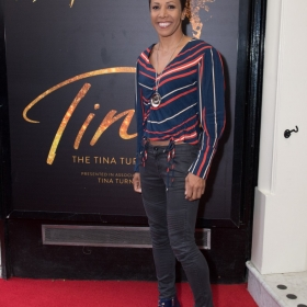 Kelly Holmes at Tina Press Night - © Craig Sugden