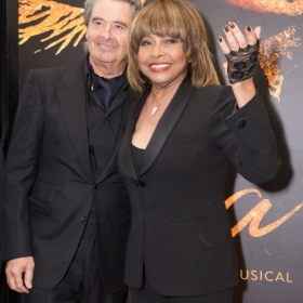 Erwin Bach and Tina Turner at Tina Press Night - © Craig Sugden