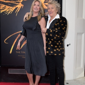 Penny Lancaster & Rod Stewart at Tina Press Night - © Craig Sugden