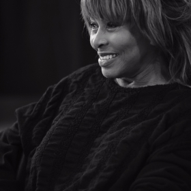 Tina Turner at 2017 workshop. © Hugo Glendinning