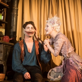 The Grinning Man at Trafalgar Studios. © Helen Maybanks