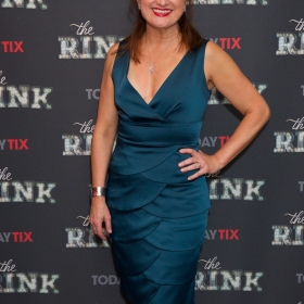 Caroline O'Connor at the press night for The Rink © Piers Allardyce
