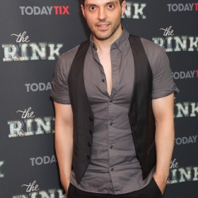 Choreographer Fabian Aloise at the press night for The Rink © Piers Allardyce