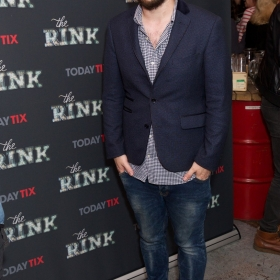 Director Adam Lenson at the press night for The Rink © Piers Allardyce