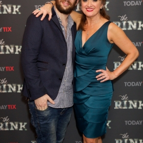 Director Adam Lenson & Caroline O'Connor at the press night for The Rink © Piers Allardyce