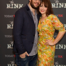 Director Adam Lenson & Gemma Sutton at the press night for The Rink © Piers Allardyce