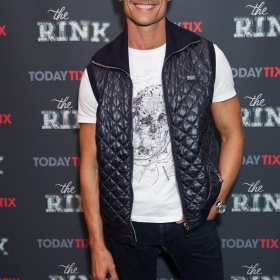 John Partridge at the press night for The Rink © Piers Allardyce
