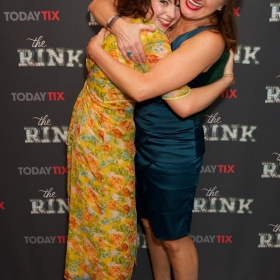 Gemma Sutton & Caroline O'Connor at the press night for The Rink © Piers Allardyce