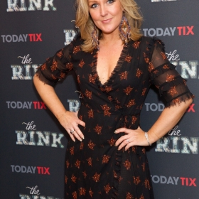 Mazz Murray at the press night for The Rink © Piers Allardyce