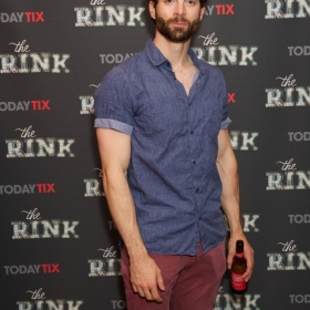 Stewart Clarke at the press night for The Rink © Piers Allardyce