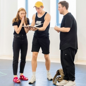 Eugenius in rehearsal, Aug 2018. © Nik Dudley